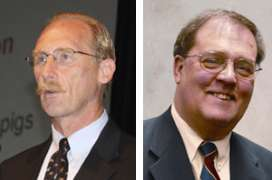 Iowa State University mourns the loss of two pig veterinarians